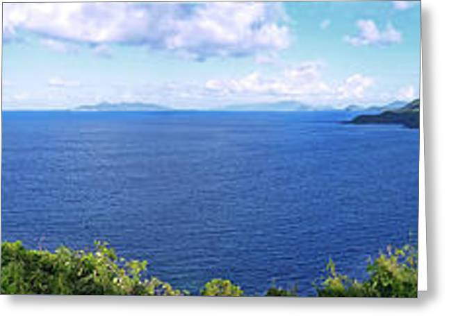 St. Thomas Northside Ocean View Greeting Card
