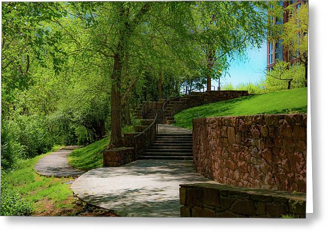 Stairway To Carlyle Greeting Card