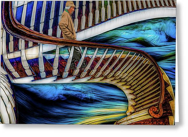 Stairway To Perdition Greeting Card