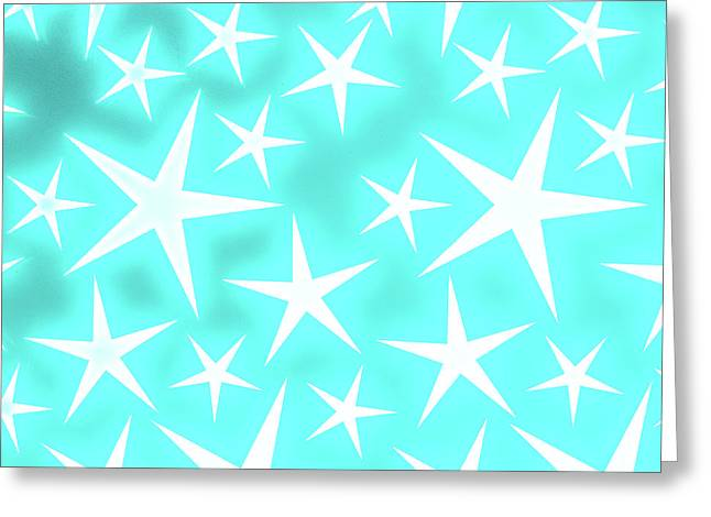 Star Burst 1 Greeting Card