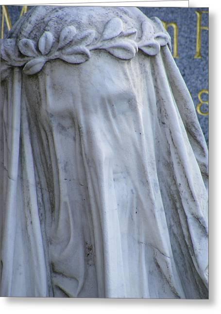 Statue, Remorse  Greeting Card