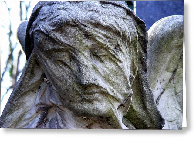 Statue, Thought Greeting Card