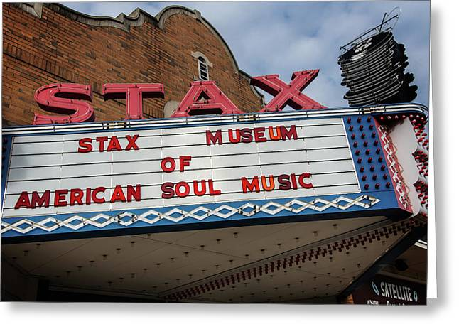 Stax Greeting Card