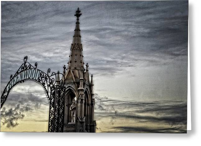 Steeple And Steel Greeting Card
