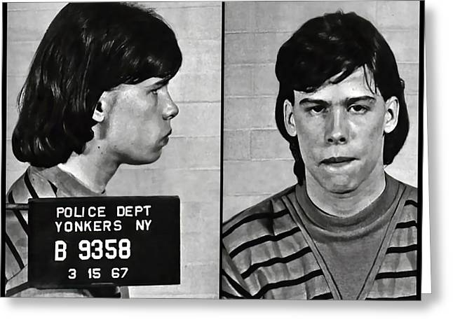 Steven Tyler Mugshot 1967 Greeting Card