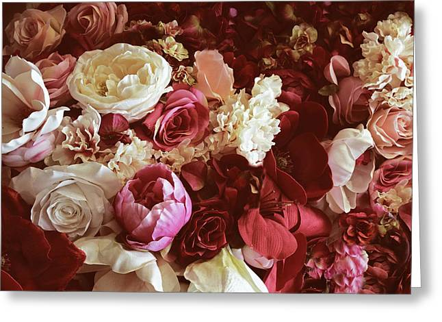 Still Life Rose Collection Greeting Card