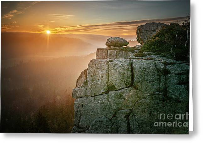 Stolowe Mountains National Park In Greeting Card