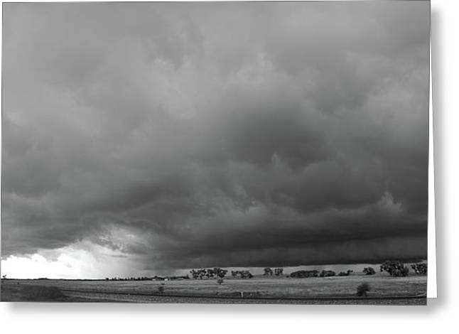 Storm Chasin In Nader Alley 009 Greeting Card