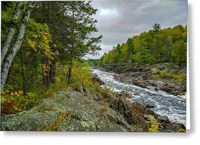 Storm Clouds At Jay Cooke Greeting Card