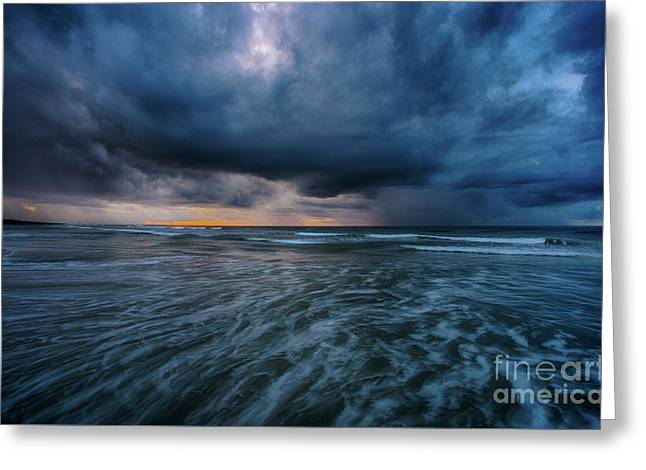 Stormy Morning Greeting Card