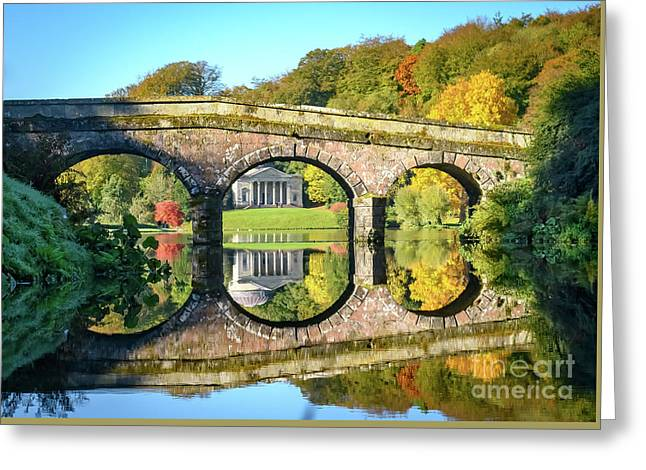 Stourhead Autumn Greeting Card