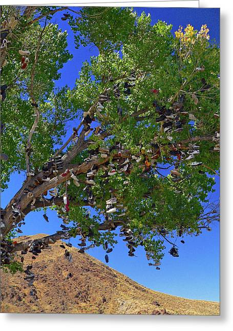 Greeting Card featuring the photograph Strange Fruit by David Bailey