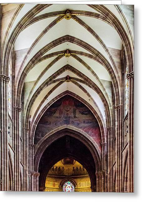 Strasbourg Cathedral - 2 Greeting Card