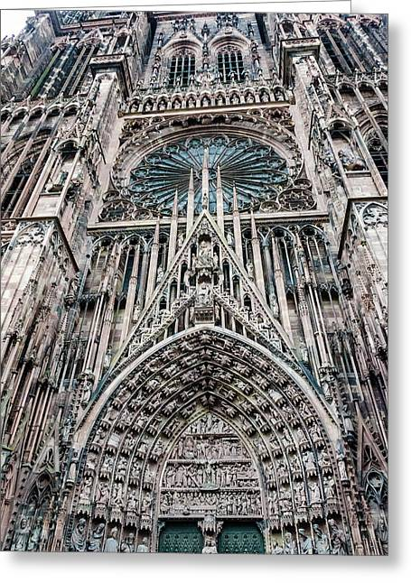 Strasbourg Cathedral Greeting Card