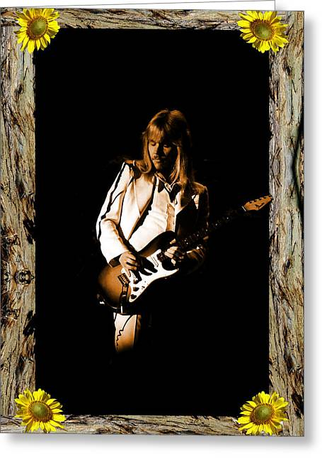 Greeting Card featuring the photograph Styxart In Frame #1 by Ben Upham