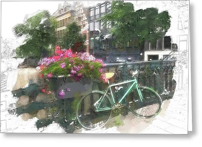 Summer In Amsterdam Greeting Card