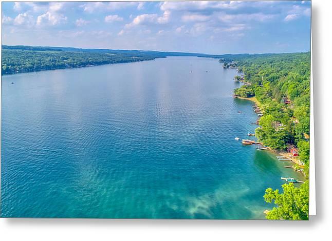 Summer On Keuka Lake Greeting Card