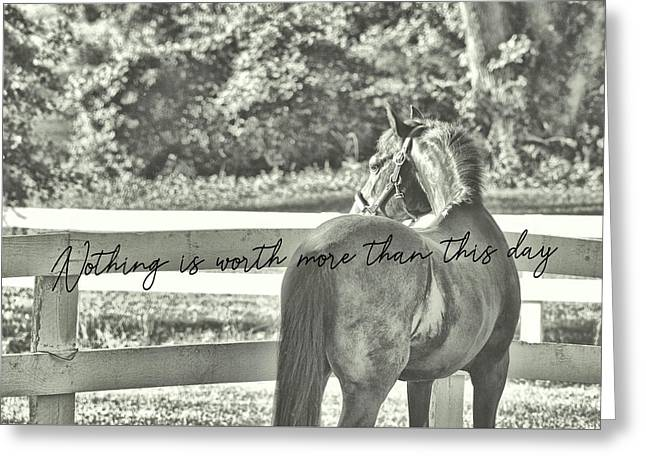 Summer's Eve Quote Greeting Card by JAMART Photography