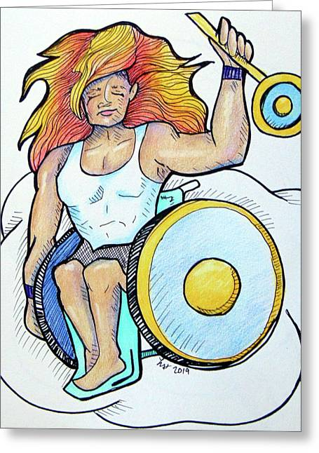 Sun-apollo  Greeting Card