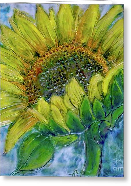 Sunflower Happiness Greeting Card
