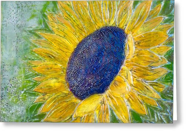 Sunflower Praises Greeting Card