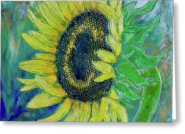 Sunflower Smiles Greeting Card