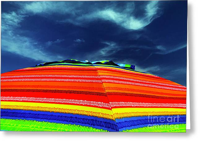 Greeting Card featuring the photograph Sunny Side Up by Rick Locke