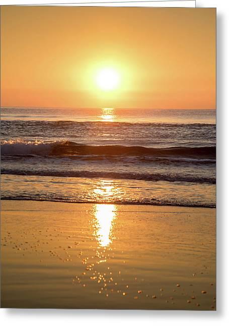 Sunrise At Surfers Paradise Greeting Card