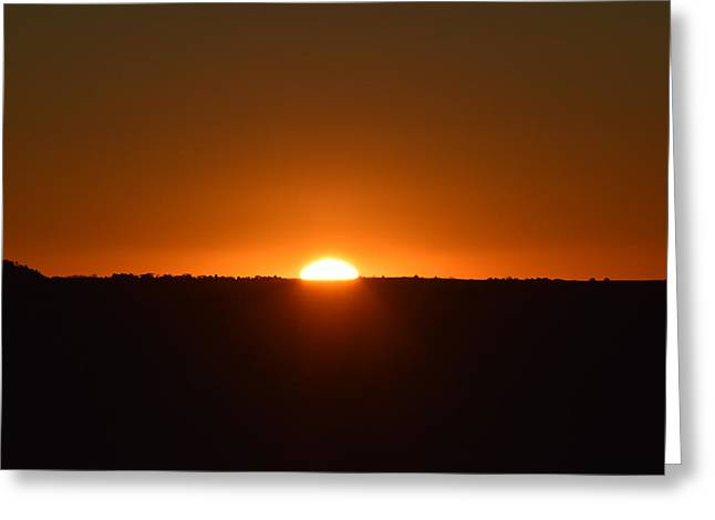 Greeting Card featuring the photograph Sunrise by Margarethe Binkley