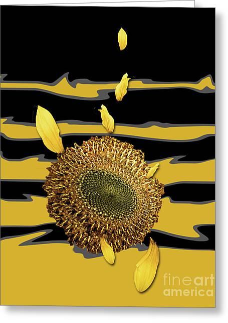 Sun's Flower Greeting Card