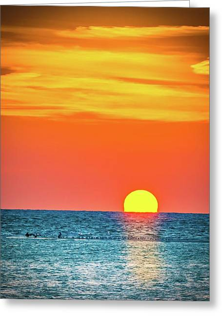 Sunset Captiva  Greeting Card