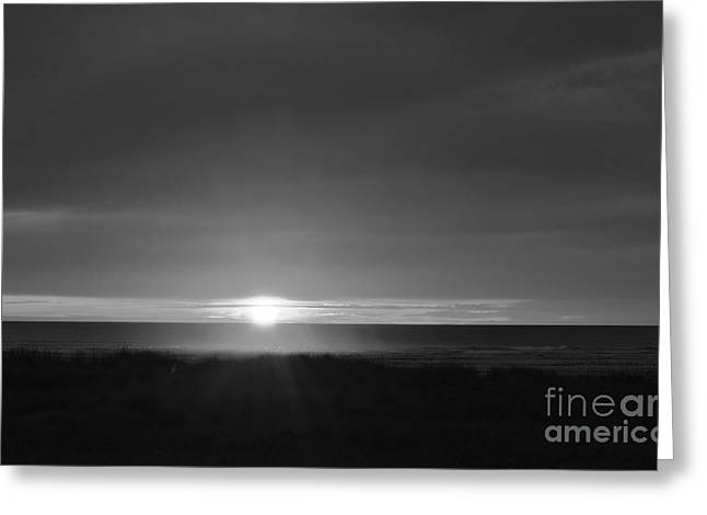 Greeting Card featuring the photograph Sunset Horizon  by Jeni Gray