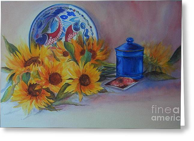 Sunshine In The Kitchen Greeting Card