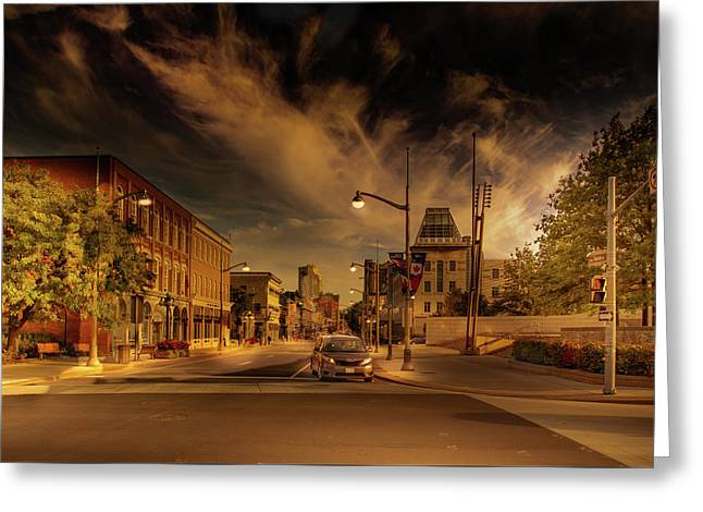 Greeting Card featuring the photograph Sussex Dr by Juan Contreras