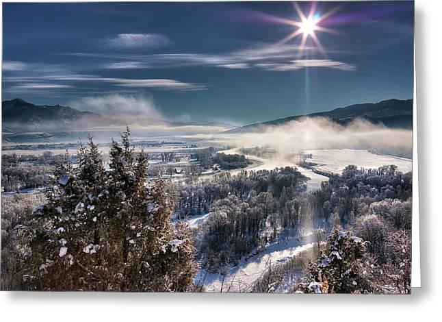 Swan Valley Winter Greeting Card