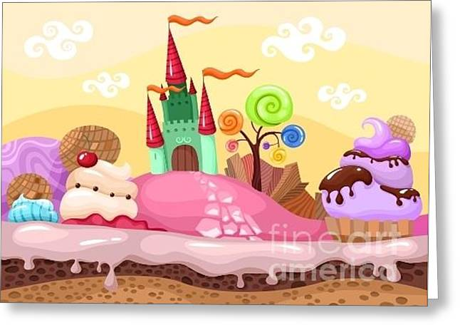 Sweet Landscape Greeting Card