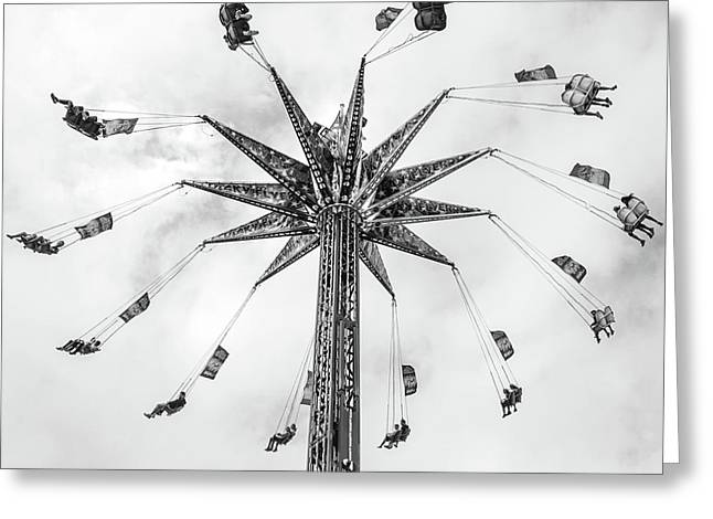 Greeting Card featuring the photograph Swing  by Whitney Leigh Carlson