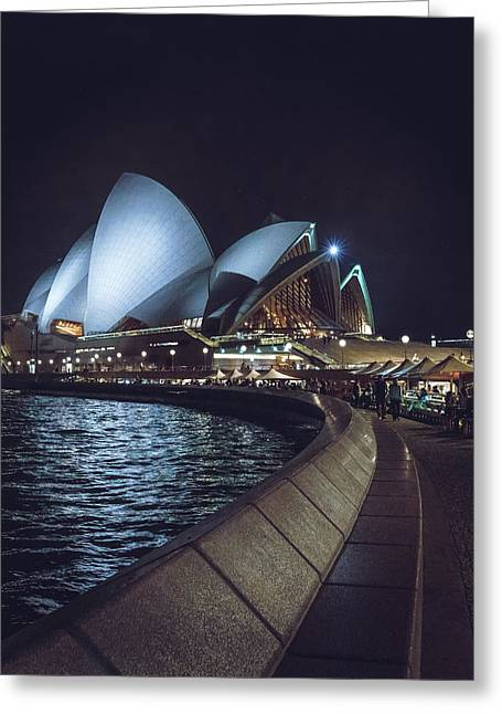 Sydney Opera House Nights Greeting Card