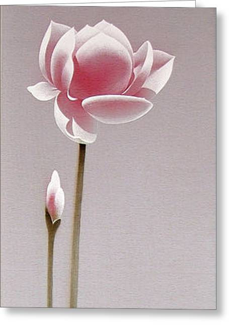 Symbol Of Purity Greeting Card