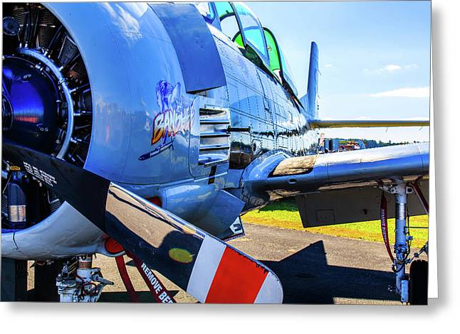 T-28b Trojan Banshee  Greeting Card
