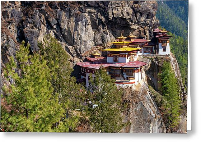 Taktsang Monastery  Greeting Card