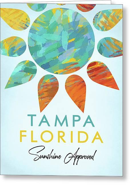 Tampa Florida Sunshine Greeting Card