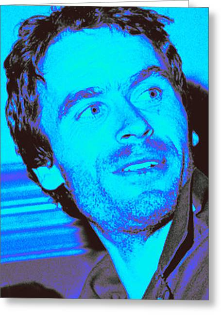 Ted Bundy Blue Greeting Card