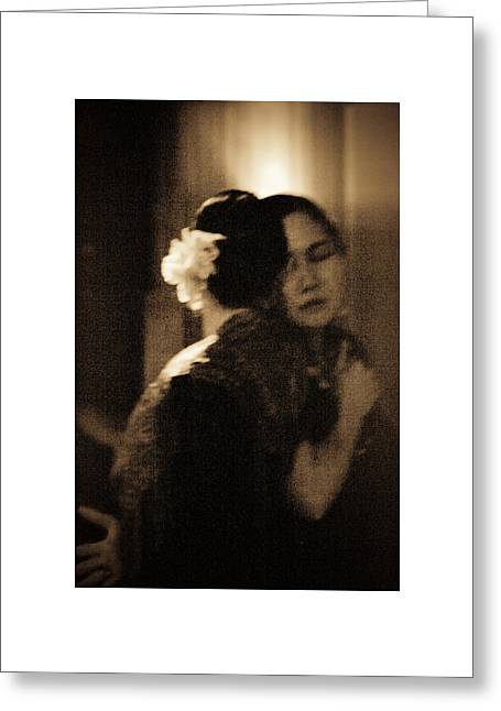 Greeting Card featuring the photograph Tenderness by Catherine Sobredo