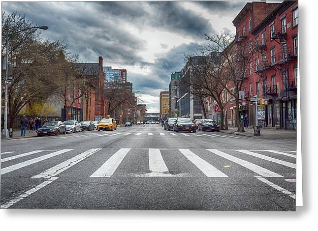 Tenth Avenue Freeze Out Greeting Card
