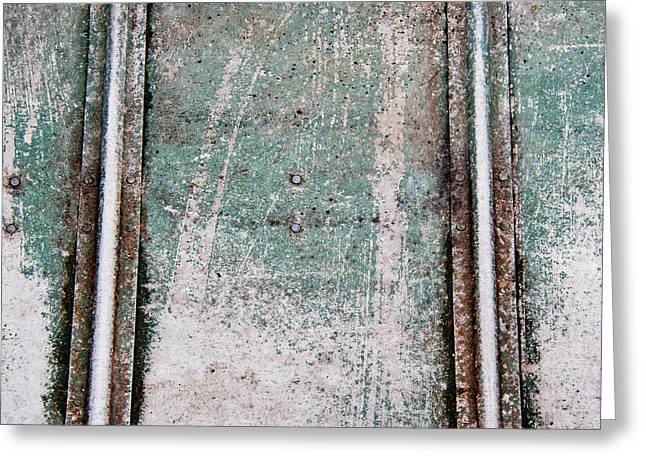 Texture Found On The Docks Greeting Card