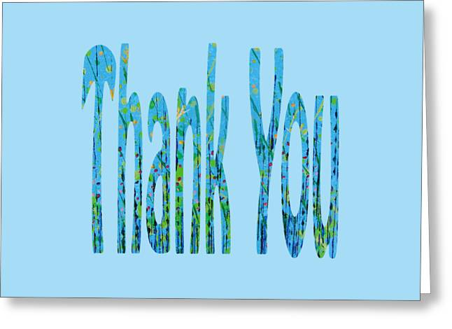Thank You 1001 Greeting Card