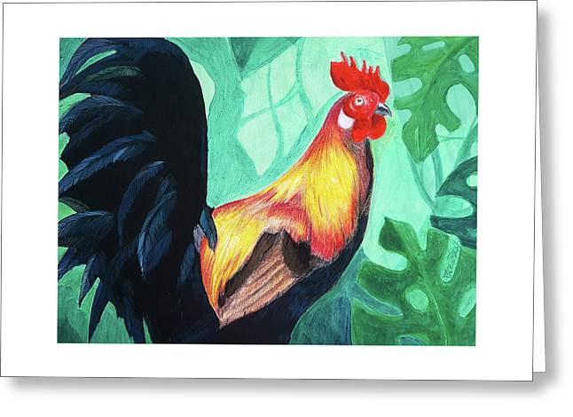 That Rooster Greeting Card