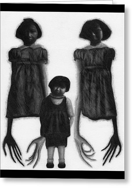 The Abberant Sisters - Artwork Greeting Card