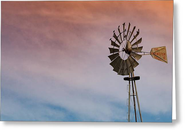 Greeting Card featuring the photograph The Aermotor Chicago Co. By Mike-hope by Michael Hope